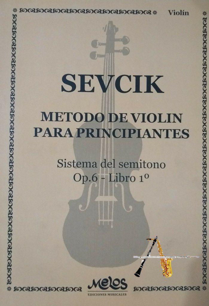 Método Sevcik Op 6 Libro 1 - Violino - Musical Perin