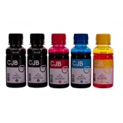 Kit de Tinta HP Série GT 5822 HP 116 HP 412 (5x100ml)