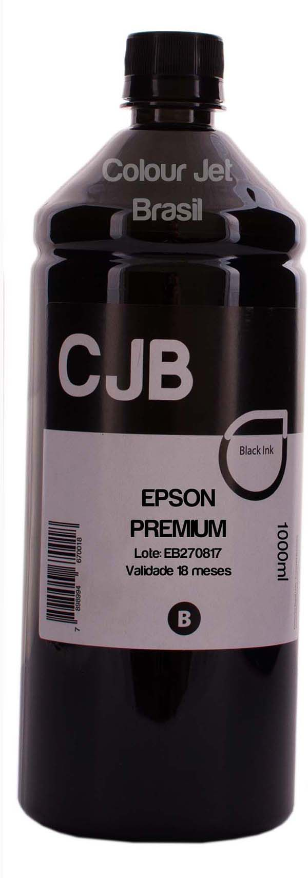 1 Litro Tinta Impressora Epson M100 M105 M200 M205 L655 L656