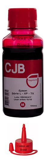 Refil de tinta Epson Impressora L355 L365 L375 L395 Magenta (100ml)