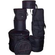 Kit de Bags para Bateria com 8 Pçs Super-Luxo