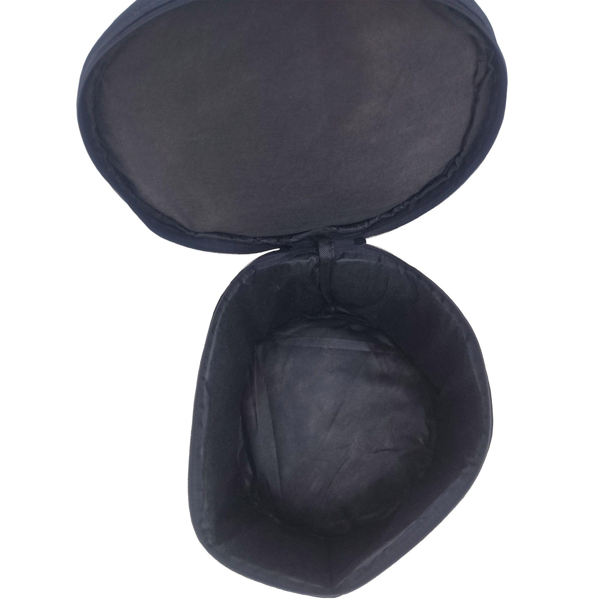 """Capa Bag Extra Luxo Bumbo 22"""" para Bateria CLAVE & BAG. Totalmente acolchoado"""