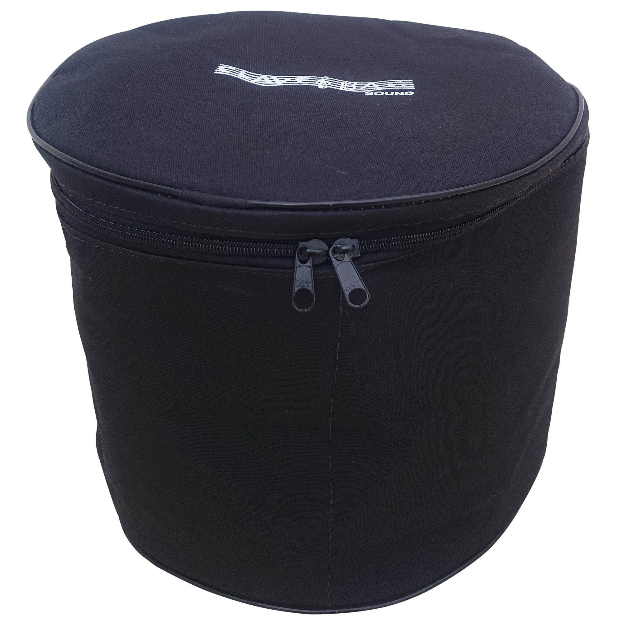 """Capa Bag Extra Luxo para Tom 10"""" para Bateria CLAVE & BAG. Totalmente acolhoado"""