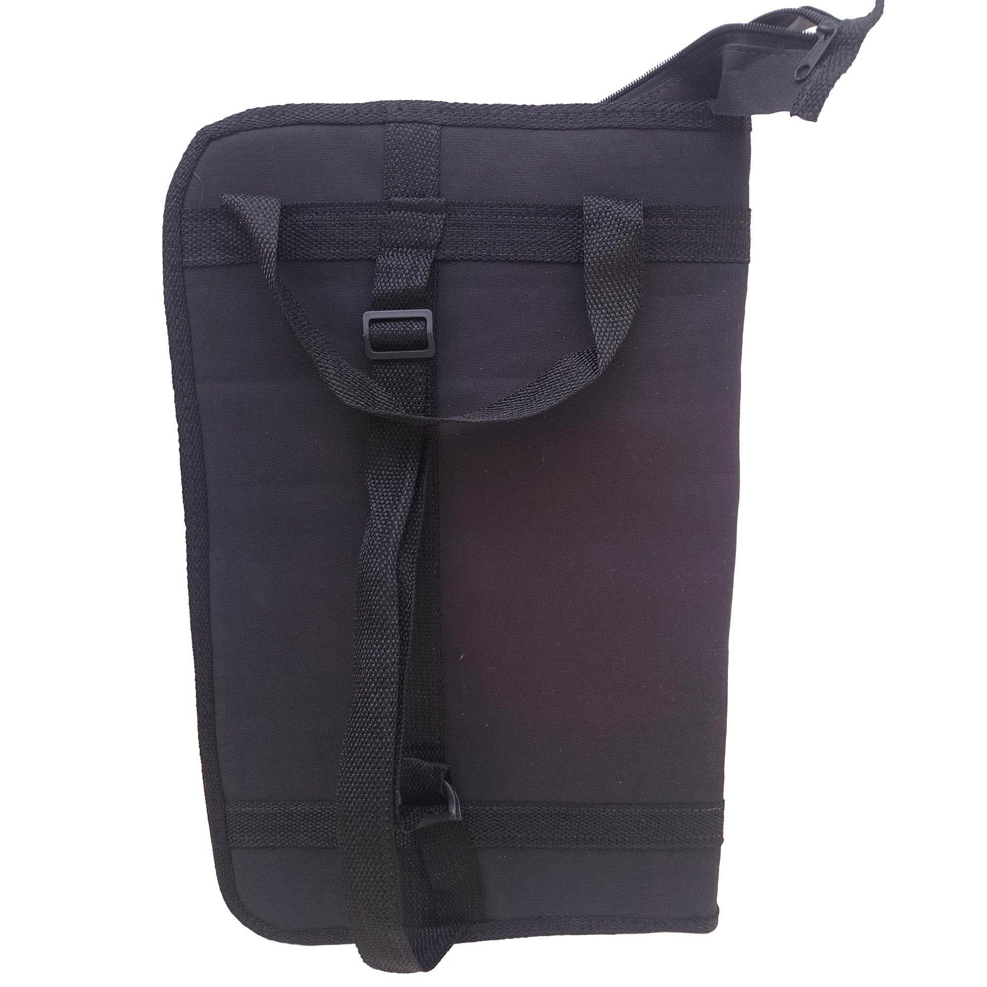 Capa Bag luxo LC Para Baquetas. Grande, cabe muitas baquetas. Baqueteira profissional. CLAVE & BAG. LU 704