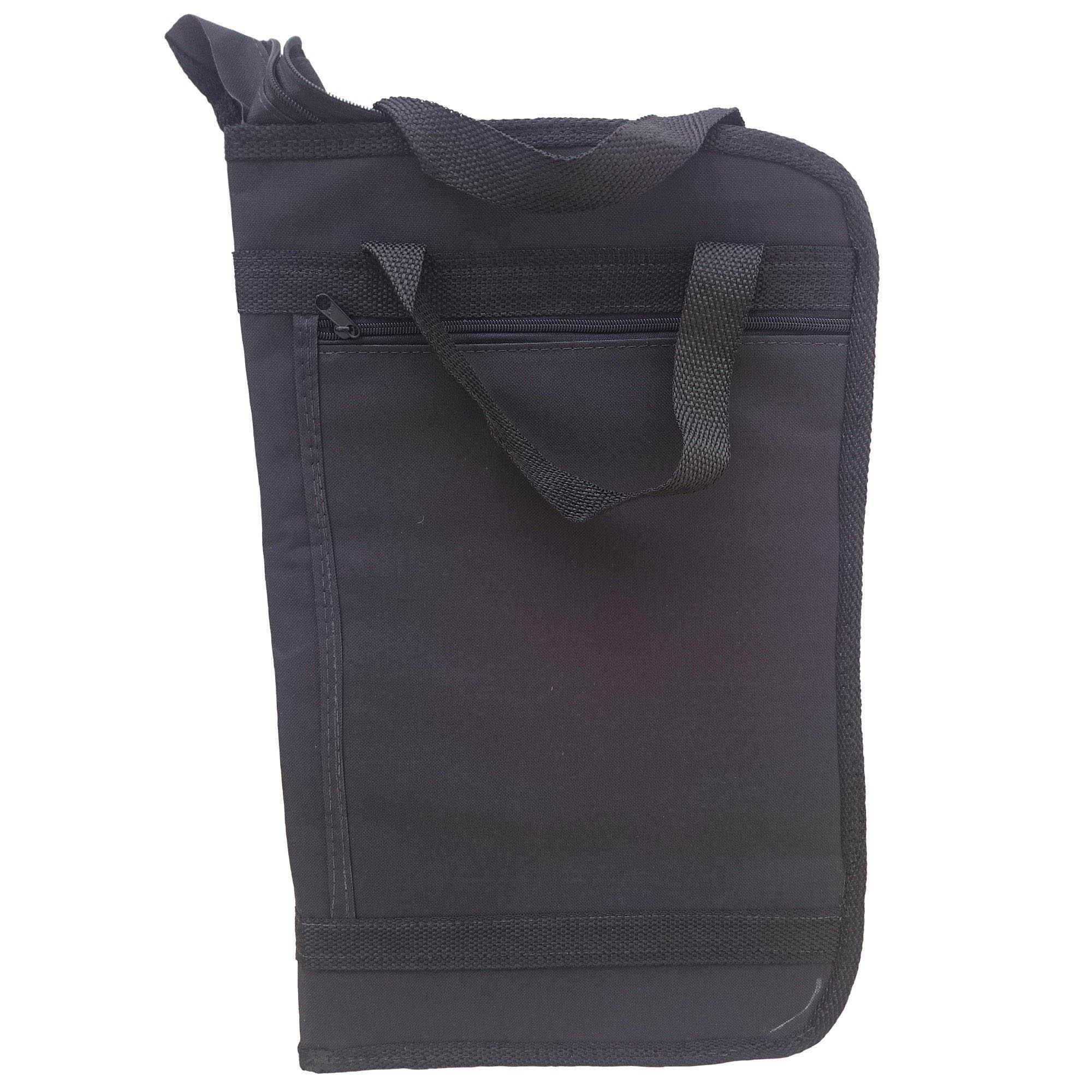 Capa Bag luxo Para Baquetas. Baqueteira profissional, com tamanho reduzido, ocupa pouco espaço. LU 703