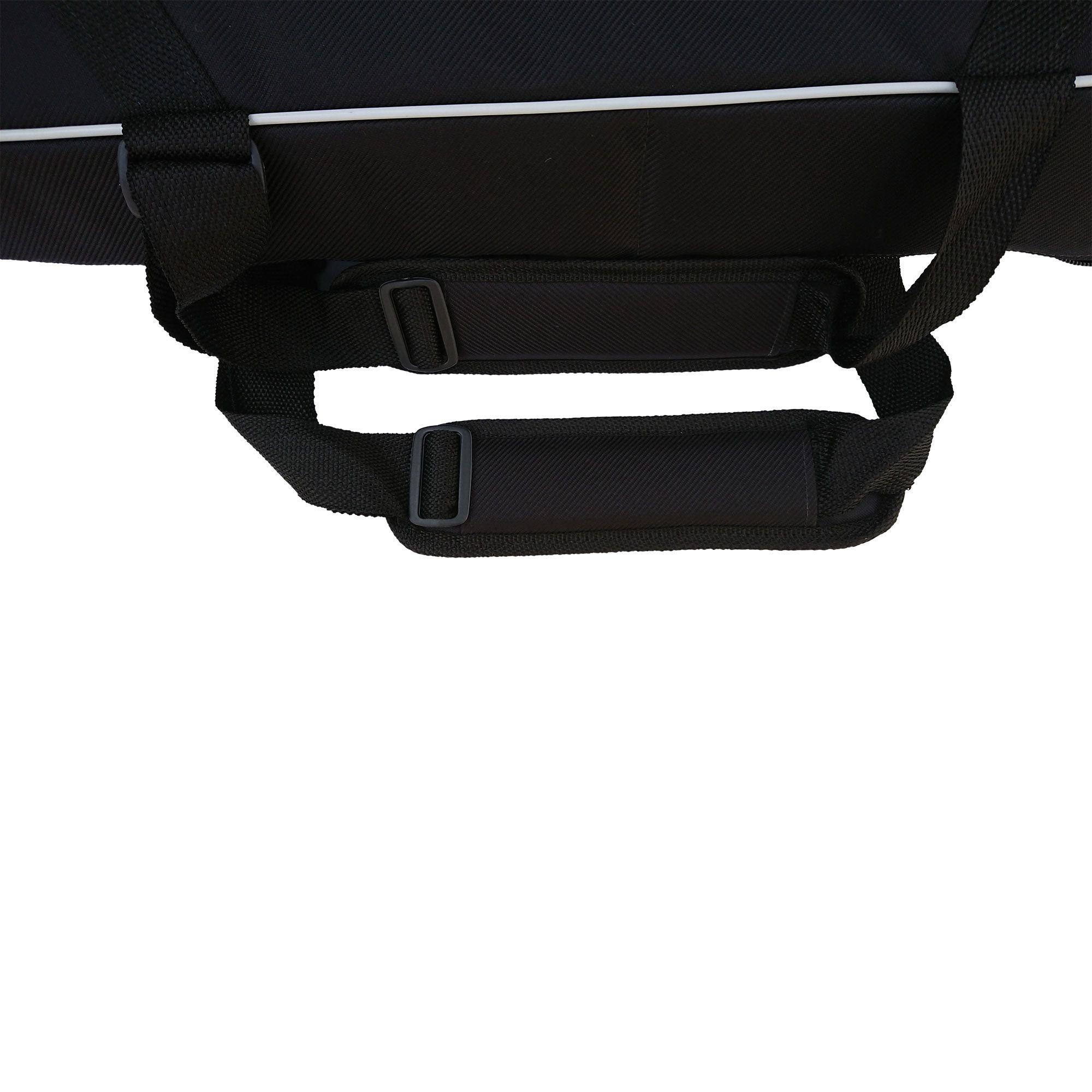 Capa Bag P/ Teclado 5/8 Semi Case Premium PSR S670, S910 MOTIF XS6 e Outros (100 x 45 x 18 cm) SC 402-A  - ROOSTERMUSIC