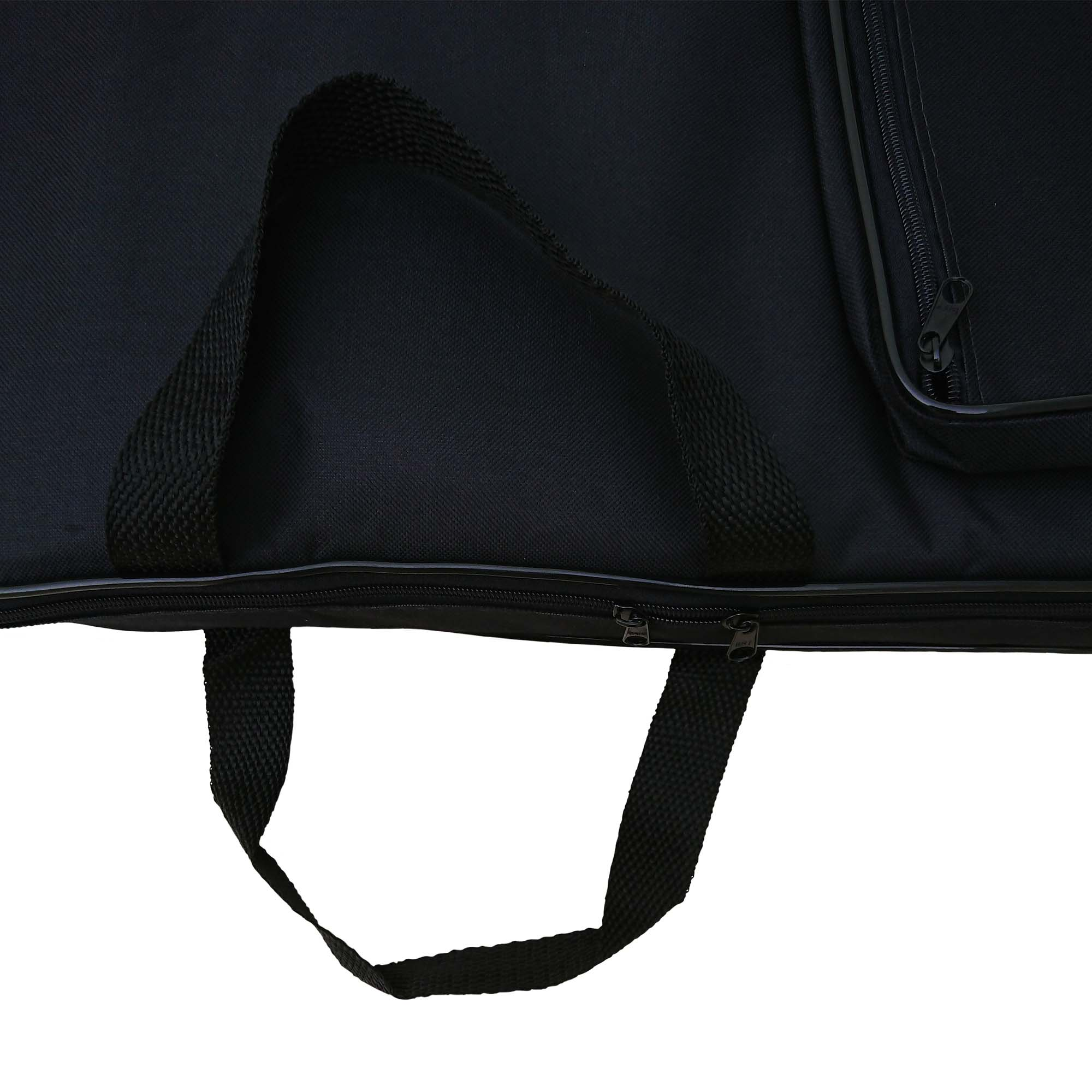 Capa Bag Para Contra Baixo Luxo CLAVE & BAG. Acolchoada, alça de mão e de mochila. LU 508
