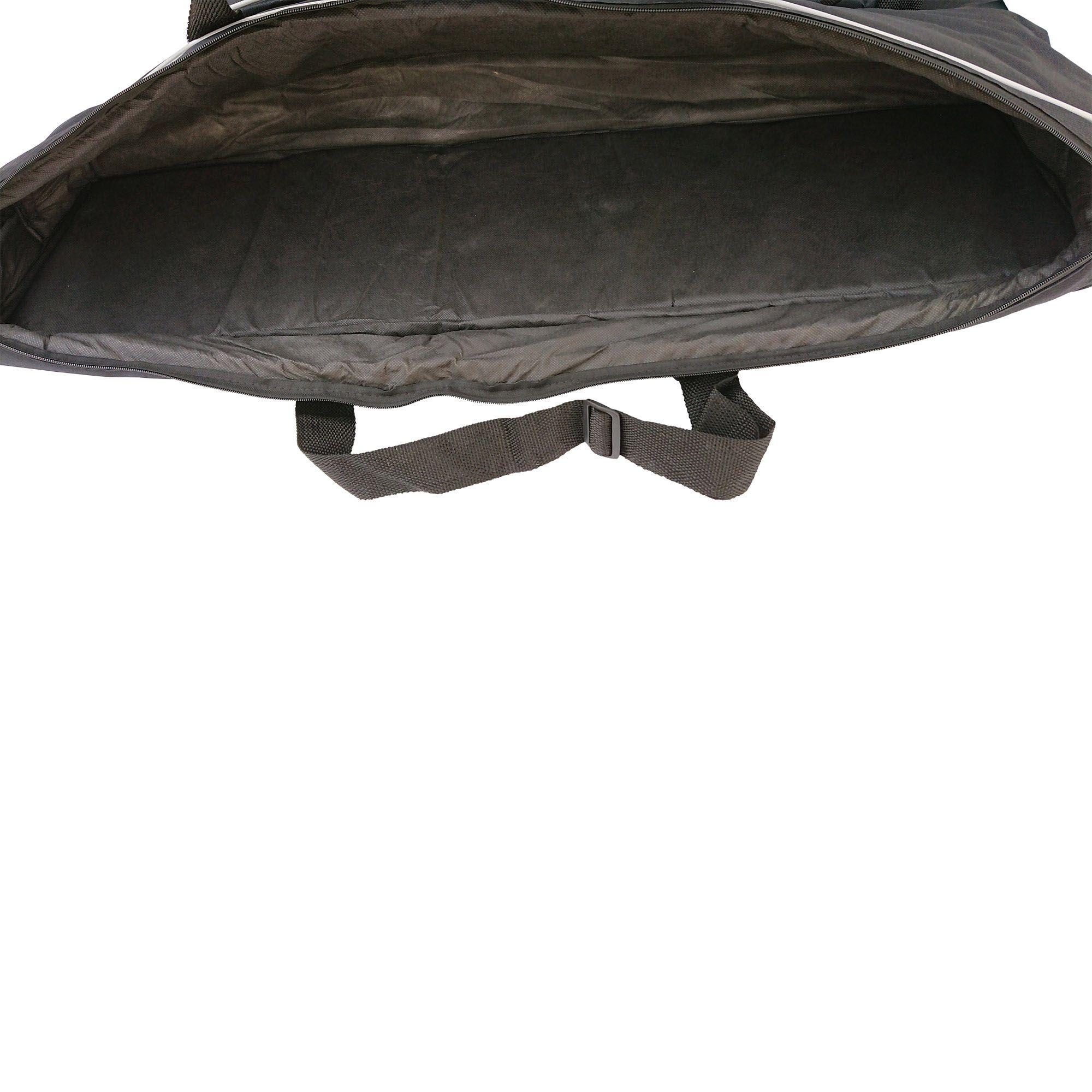 Capa Bag para Teclado Semi-case gold para FA08, JUNO-DS88, Oxygen 88 e outros (142 x 35 x 15 cm)