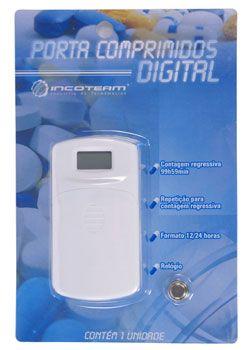 Porta Comprimido Digital - INCOTERM  - Shopping Prosaúde