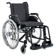 Cadeira de rodas Alumínio Hemiplégico - BAXMANN E JAGUARIBE