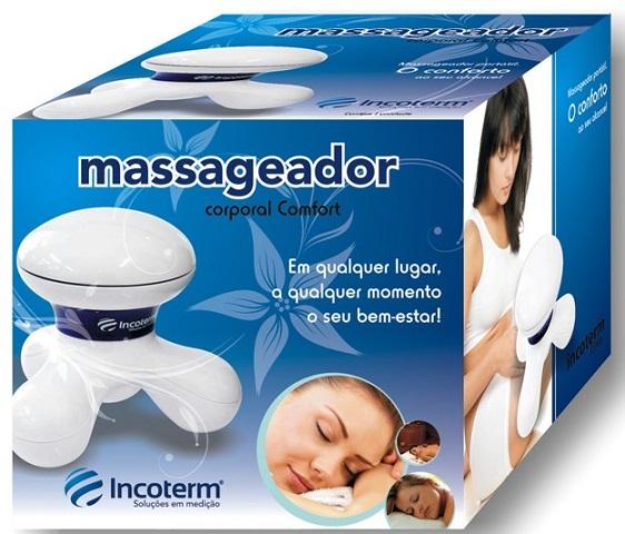 Massageador Elétrico Confort - Incoterm  - Shopping Prosaúde