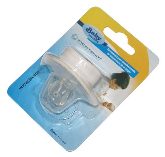 Termômetro Digital tipo chupeta - BABY CONFORT 29844 - Incoterm  - Shopping Prosaúde