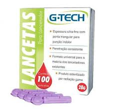 Lancetas para Lancetador - G-tech  - Shopping Prosaúde