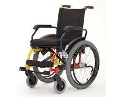 Cadeira de rodas Aço Cantu Infantil 36 cm - BAXMANN E JAGURIBE