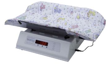 Balança  Médica Eletrônica ( 15kg )  Bandeja Inox 109E - Welmy  - Shopping Prosaúde