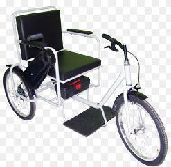 Cadeira de Rodas Triciclo 45 cm - CARONE  - Shopping Prosaúde