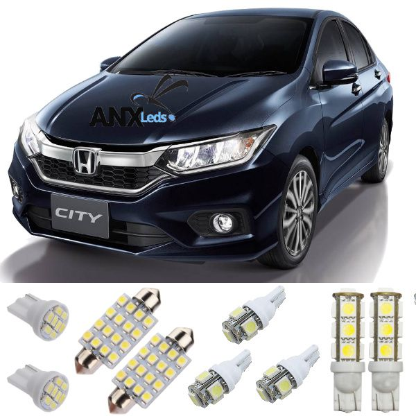 Kit Lampadas Led Honda City 2015 / 2016