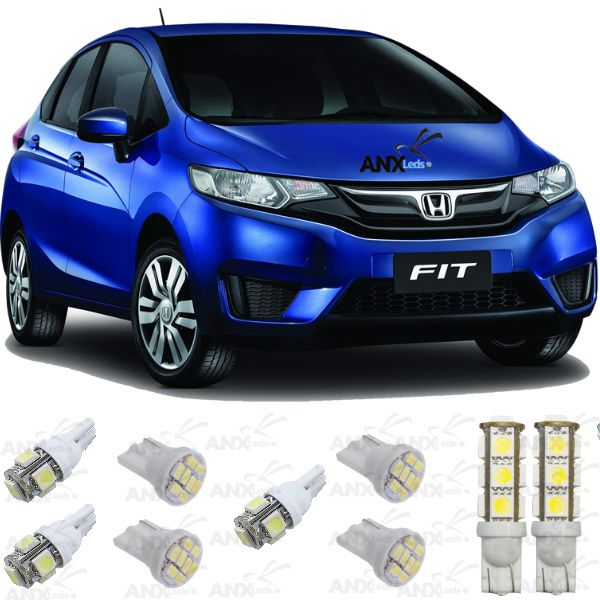 Kit Lampadas Led Honda Fit 2015 / 2016
