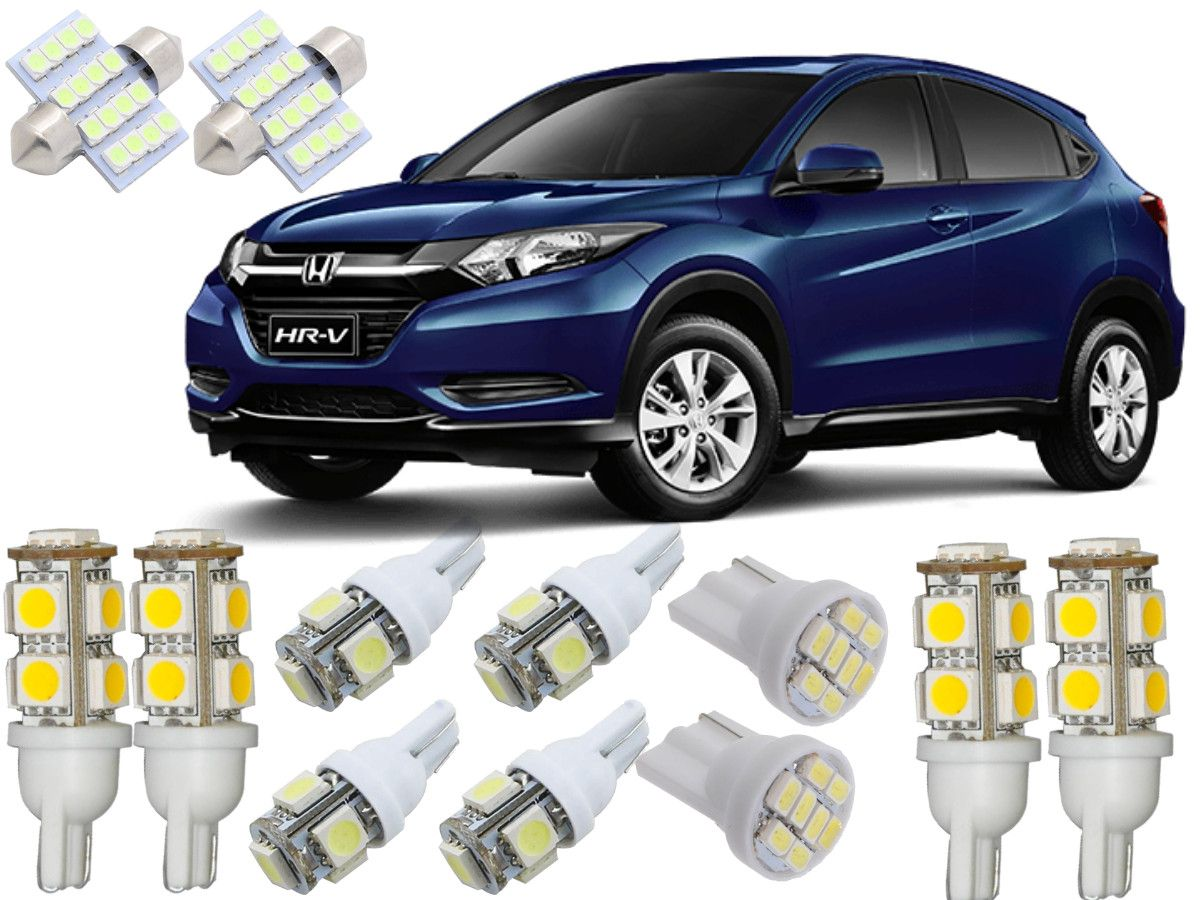 Kit Lampadas Led Honda Hrv 2015 / 2016