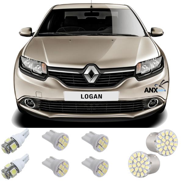 Kit Lampadas Led Renault Logan