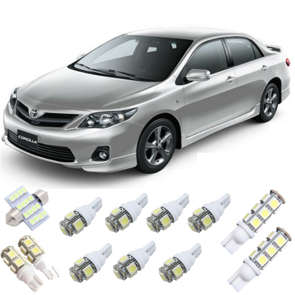 Kit Lampadas Led Toyota Corolla 2009 / 2013