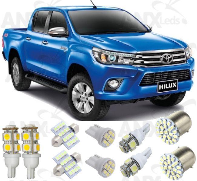 Kit Lampadas Led Toyota Hilux 2016