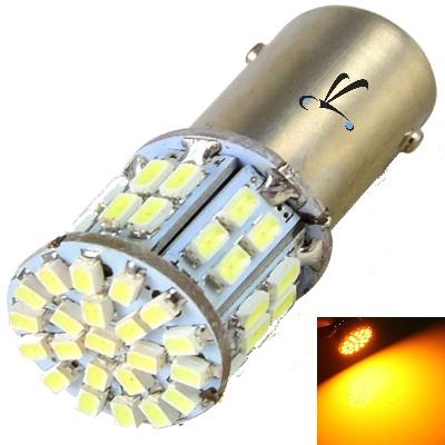 Lampada 1156 1 Polo 50 Leds Smd  Amarela 12v