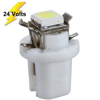 Lampada Led T5 B8.5 Para Painel 24v