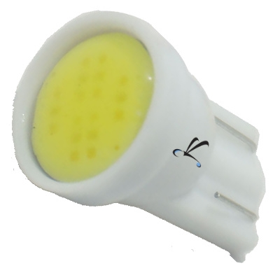 Lampada Pingo T10 1 Leds Cob Branco 12v