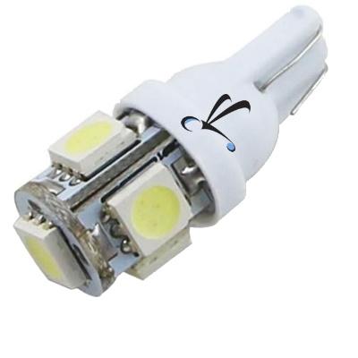 Lampada Pingo T10 5 Leds Smd Branca 12V