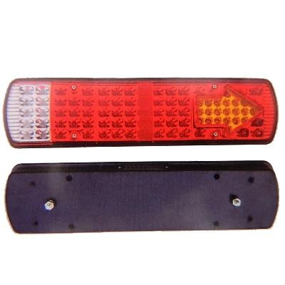 Lanterna De Led Traseira Para Caminhão - 95 Leds - Zd013