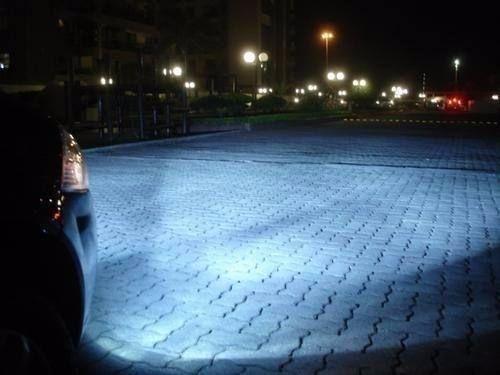 Par Lampada Super Branca Xenon 8500 H4 60/55w Techone