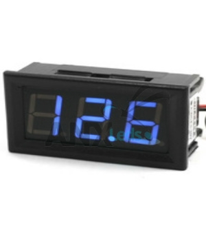 Voltímetro Led Digital 3 A 30v Display Azul