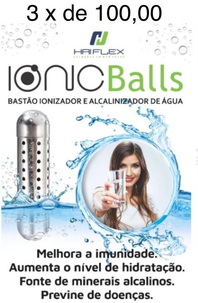 Ionic Balls - Bastão ionizador e alcalinizador de água  - HARDER INFORMÁTICA