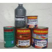Tinta Efeito Cromado Kit Completo P/ 500ml De Effectchrome®