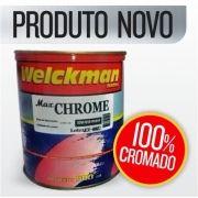 Tinta 100% Cromado Anodizado Cromo 500ml Carro Rodas Moto