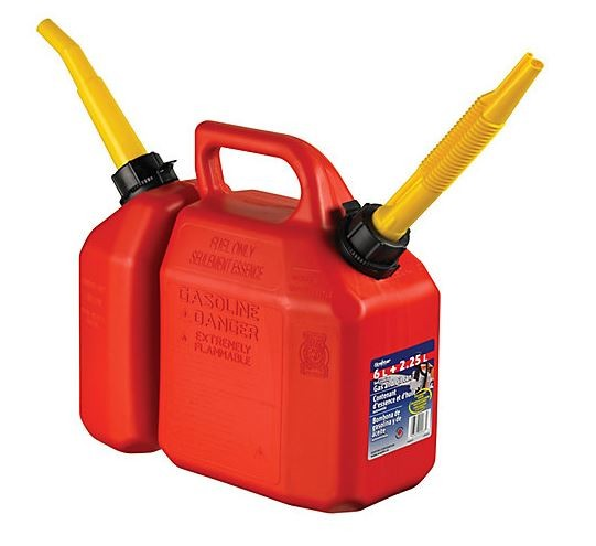 Galao Conjugado Gasolina e Oleo 6 L / 2.5L