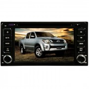 Central Multimidia Toyota Hilux Modelo 2006 , 2007 , 2008 , 2009 , 2010 , 2011 Tv Digital Integrada