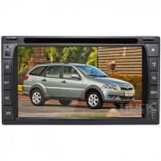 Central Multimidia Fiat Palio Weekend 2013 / Strada 2013 (Universal c/ Moldura) Tv Digital Integrada