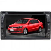 Central Multimidia Volkswagen Voyage G5 (Universal c/ Moldura) Tv Digital Integrada