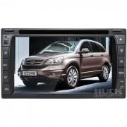 Central Multimidia Honda CR-V 2007 a 2011 (Universal c/ Moldura) TV Digital Integrada