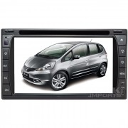 Central Multimidia Honda New Fit 2009-2013 (Universal c/ Moldura) Tv Digital Integrada