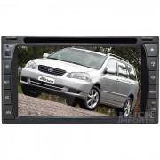 Central Multim�dia Toyota Fielder (universal C/ Moldura) - Huck Imports - Centrais Multim�dia e Acess�rios Automotivos