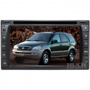 Central Multimidia Kia Sorento 2000-2006 (Universal c/ Moldura) TV Digital Integrada - Huck Imports - Centrais Multim�dia e Acess�rios Automotivos