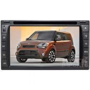 Central Multimidia Kia Soul 2012 Tv Digital Integrada (Universal C/ Moldura)