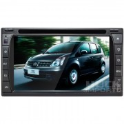 Central Multimidia Nissan Livina Tv Digital Integrada - C�MERA DE R� DE BRINDE