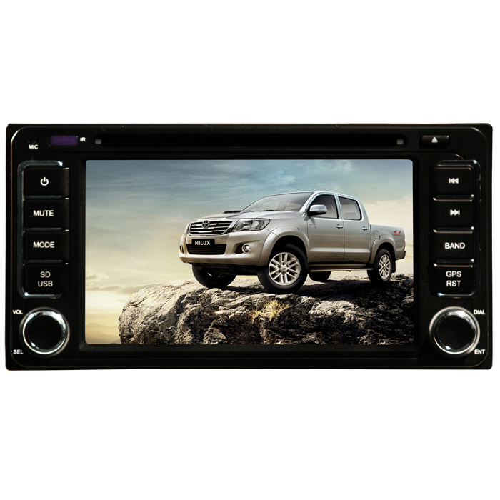 Central Multimidia Toyota Hilux Modelo 2012, 2013, 2014 Tv Digital Integrada