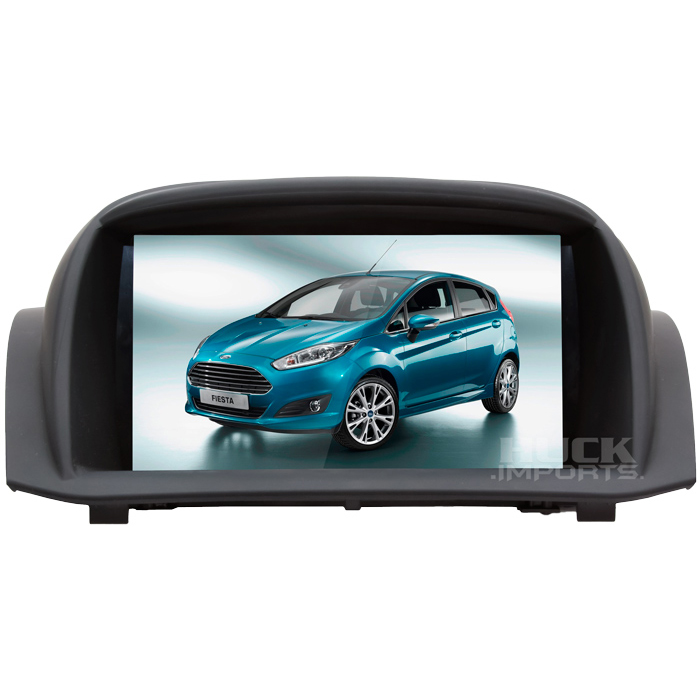 Central Multimidia Ford New Fiesta 2010 a  2012
