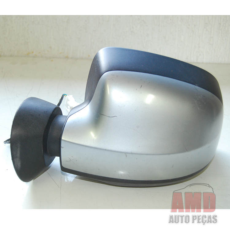 Espelho Retrovisor Logan Sandero 09 A 13 El�trico  - Amd Auto Pe�as