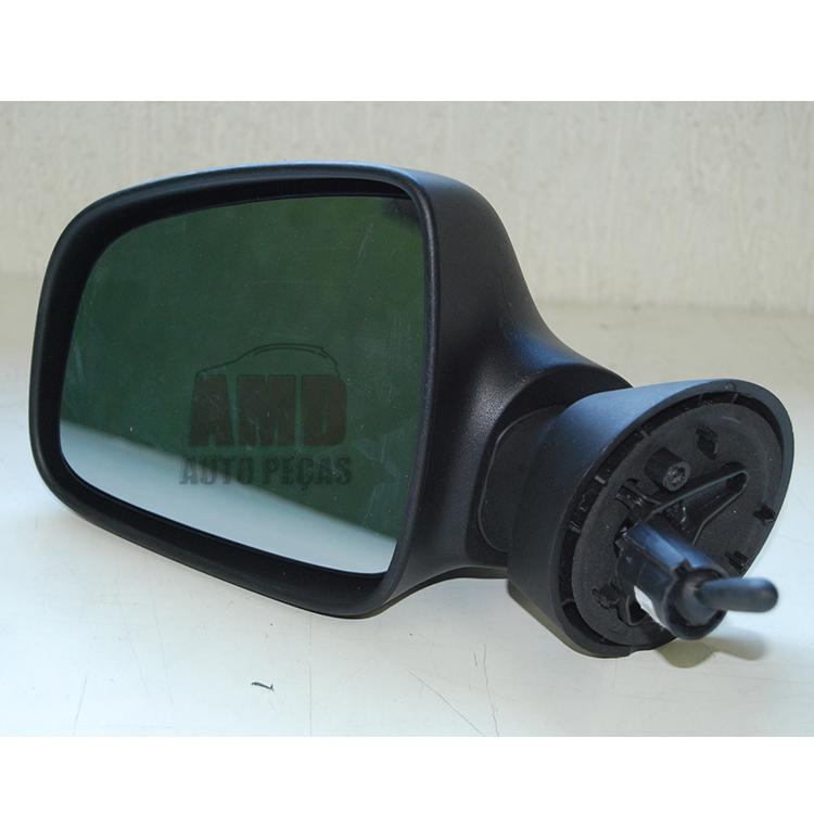 Espelho Retrovisor Logan Sandero 09 A 13  - Amd Auto Peças